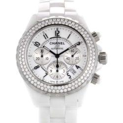 Ремонт часов Chanel H1008 J12 - White J12 Chronograph H1008 в мастерской на Неглинной