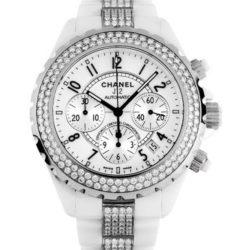 Ремонт часов Chanel H1707 J12 - White J12 Chronograph H1707 в мастерской на Неглинной