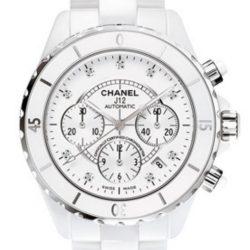 Ремонт часов Chanel H2009 J12 - White J12 Chronograph H2009 в мастерской на Неглинной