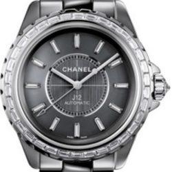 Ремонт часов Chanel H2913 J12 Black J12 Chromatic Diamond Baguette 38 mm H2913 в мастерской на Неглинной