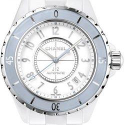 Ремонт часов Chanel J12 White Soft Blue J12 - White Automatic в мастерской на Неглинной