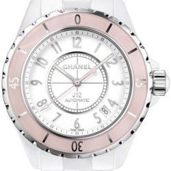Ремонт часов Chanel J12 White Soft Pink J12 - White Automatic в мастерской на Неглинной