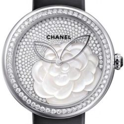 Ремонт часов Chanel Mademoiselle Prive Camelia Dial Pave Jewelry watches Automatic в мастерской на Неглинной