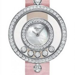Ремонт часов Chopard 203957/1001 Happy Diamonds Round 5 Diamonds в мастерской на Неглинной