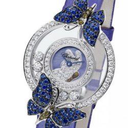 Ремонт часов Chopard 204423-1002 Happy Diamonds Butterflies в мастерской на Неглинной