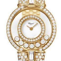 Ремонт часов Chopard 205596-0001 Happy Diamonds Round 7 Diamonds в мастерской на Неглинной