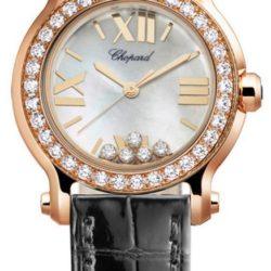 Ремонт часов Chopard 274189-5005 Happy Sport Round 30mm 5 Diamonds Edition в мастерской на Неглинной