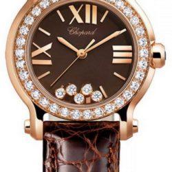 Ремонт часов Chopard 274189-5006 Happy Sport Round 30mm 5 Diamonds Edition в мастерской на Неглинной