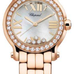 Ремонт часов Chopard 274189-5007 Happy Sport Round 30mm 5 Diamonds Edition в мастерской на Неглинной