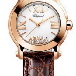 Ремонт часов Chopard 274189-5010 Happy Sport Round 30mm 5 Diamonds Edition в мастерской на Неглинной