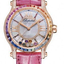 Ремонт часов Chopard 274891 - 5007 Happy Sport Medium Automatic Coloured stones 2014 в мастерской на Неглинной