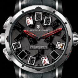 Ремонт часов Christophe Claret MTR.BLJ08.000-021 21 BlackJack 21 BlackJack в мастерской на Неглинной