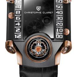 Ремонт часов Christophe Claret MTR.FLY11.080-088 X-Trem-1 RG Titanium DLC в мастерской на Неглинной