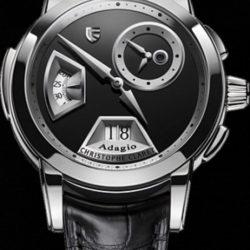 Ремонт часов Christophe Claret MTR.SLB88.102-802 Adagio White Gold black onyx в мастерской на Неглинной
