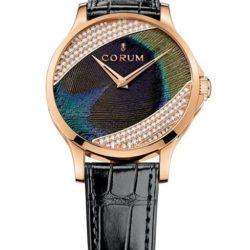 Ремонт часов Corum C082/02325 - 082.601.55/0001 PL91 Heritage Feather Peacock Gold в мастерской на Неглинной