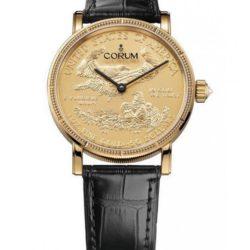 Ремонт часов Corum C082/02481 - 082.645.56/0001 MU52 Coin Artisans Coin Watch Gold Edition в мастерской на Неглинной