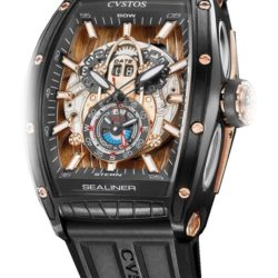 Ремонт часов Cvstos Black Sea Limited Edition of 20 pcs Limited Edition Steel PVD Gold в мастерской на Неглинной