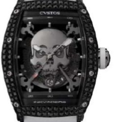 Ремонт часов Cvstos Black Steel / Titanium Components Black Diamond Challenge Inkvaders Skull в мастерской на Неглинной
