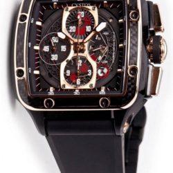 Ремонт часов Cvstos Chrono Black Bicolor Carbon Evosquare 45 в мастерской на Неглинной