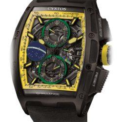 Ремонт часов Cvstos Chrono II Brasil Limited Edition Black Steel в мастерской на Неглинной