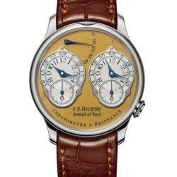 Ремонт часов F.P.Journe Chronometre a Resonance 1499.2 Souveraine Invenit et Fecit в мастерской на Неглинной
