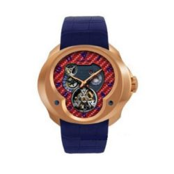 Ремонт часов Franc Vila FVa №1 Blue Alligator Strap Montre Contemporaine Grande Complication Tourbillon Planetaire Red Gold в мастерской на Неглинной
