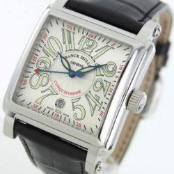 Ремонт часов Franck Muller 10000 H SC SS Silver Conquistador Cortez Centre Second в мастерской на Неглинной