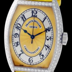 Ремонт часов Franck Muller 5850 SC CHR MET D Yellow Cintree Curvex Chronometro в мастерской на Неглинной