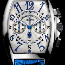 Ремонт часов Franck Muller 9080 CC AT MAR WG Silver Blue Mariner Chronograph в мастерской на Неглинной