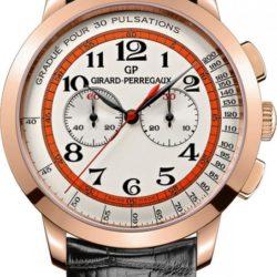 Ремонт часов Girard Perregaux 1966 Chronograph Doctor's Watch for Dubail RG 1966 40 mm в мастерской на Неглинной