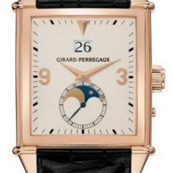 Ремонт часов Girard Perregaux 25800-52-851-BA6D Vintage 1945 King Size Large Date Moon Phase в мастерской на Неглинной