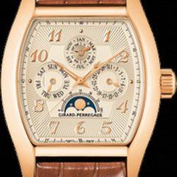 Ремонт часов Girard Perregaux 27220-52-162-BACA Haute Horlogerie Richeville Perpetual Calendar в мастерской на Неглинной