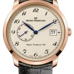 Ремонт часов Girard Perregaux 49526 OR 1966 Small Second Date в мастерской на Неглинной