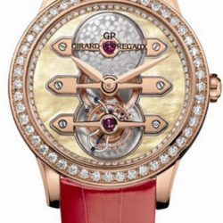 Ремонт часов Girard Perregaux Tourbillon with Three Gold Bridges Lady Golden 1966 Ladies 38 mm в мастерской на Неглинной