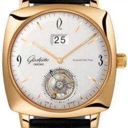 Ремонт часов Glashutte Original 94-12-01-01-04 Sixties Sixties Square Tourbillon в мастерской на Неглинной