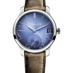 Ремонт часов H. Moser 1341-0207 Perpetual Calendar Endeavour Perpetual Calendar Funky Blue в мастерской на Неглинной