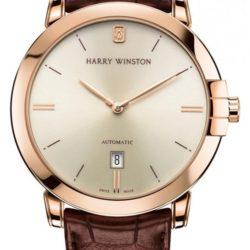 Ремонт часов Harry Winston MIDAHD42RR001 Midnight Automatic 42 MIDAHD42RR001 в мастерской на Неглинной