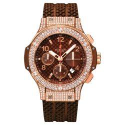 Ремонт часов Hublot 341.PC.3380.RC.0904 Big Bang 41mm Red Gold Cappuccino Diamonds в мастерской на Неглинной