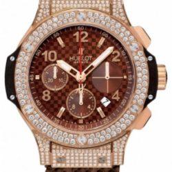Ремонт часов Hublot 341.PC.3380.RC.1704 Big Bang 41mm Red Gold Cappuccino Diamonds в мастерской на Неглинной
