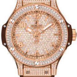 Ремонт часов Hublot 341.PC.9114.RX.094 Big Bang 41mm Red Gold Cappuccino Diamonds в мастерской на Неглинной