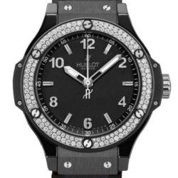 Ремонт часов Hublot 361.CV.1270.CM.1104 Big Bang 38mm Ladies Black Ceramic Black Magic Diamonds в мастерской на Неглинной