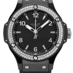 Ремонт часов Hublot 361.CV.1270.RX.1104 Big Bang 38mm Ladies Black Ceramic Black Magic Diamonds в мастерской на Неглинной