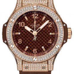 Ремонт часов Hublot 361.PC.3380.LR.1704 Big Bang 38mm Ladies Red Gold Cappuccino Diamonds в мастерской на Неглинной