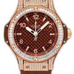 Ремонт часов Hublot 361.PC.3380.RC.0904 Big Bang 38mm Ladies Red Gold Cappuccino Diamonds в мастерской на Неглинной