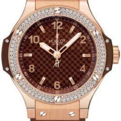 Ремонт часов Hublot 361.PC.3380.RC.1904 Big Bang 38mm Ladies Red Gold Cappuccino Diamonds в мастерской на Неглинной
