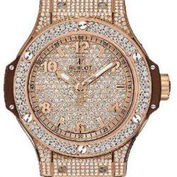 Ремонт часов Hublot 361.PC.9010.RC.1704 Big Bang 38mm Ladies Red Gold Cappuccino Diamonds в мастерской на Неглинной