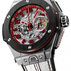 Ремонт часов Hublot 401.NM.0123.VR.ENG13 Big Bang Unico Ferrari United Kingdom в мастерской на Неглинной