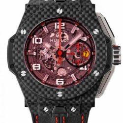 Ремонт часов Hublot 401.QX.0123.VR Big Bang Unico Ferrari Red Magic Carbon в мастерской на Неглинной