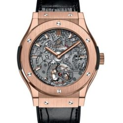Ремонт часов Hublot 504.OX.0180.LR Classic Fusion Cathedral Torbillon Minute Repeater King Gold в мастерской на Неглинной