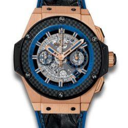 Ремонт часов Hublot 701.OQ.0119.HR King Power Unico Gold and Blue в мастерской на Неглинной